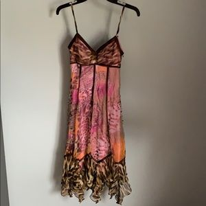 Sue Wong Beautiful Ladies Silk Dress